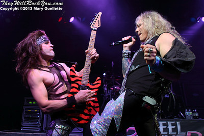 Steel Panther <br> April 21, 2013 <br> Casino Ballroom - Hampton Beach, NH <br> Photos by: Mary Ouellette
