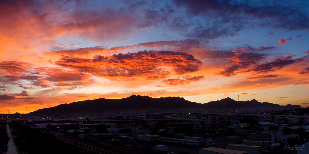 El Paso, Texas Sunset, June 22, 2010