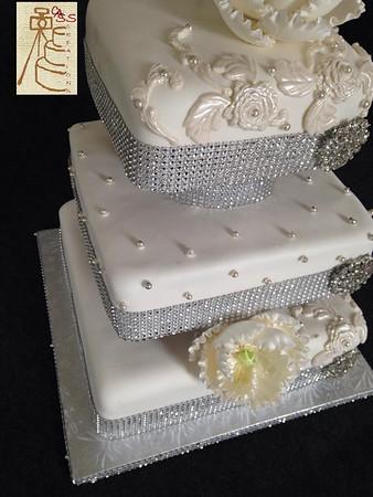 Silver Sparkle Cake