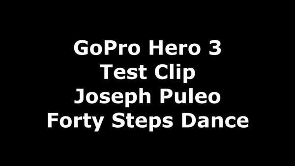 40 Steps Dance GoPro Video