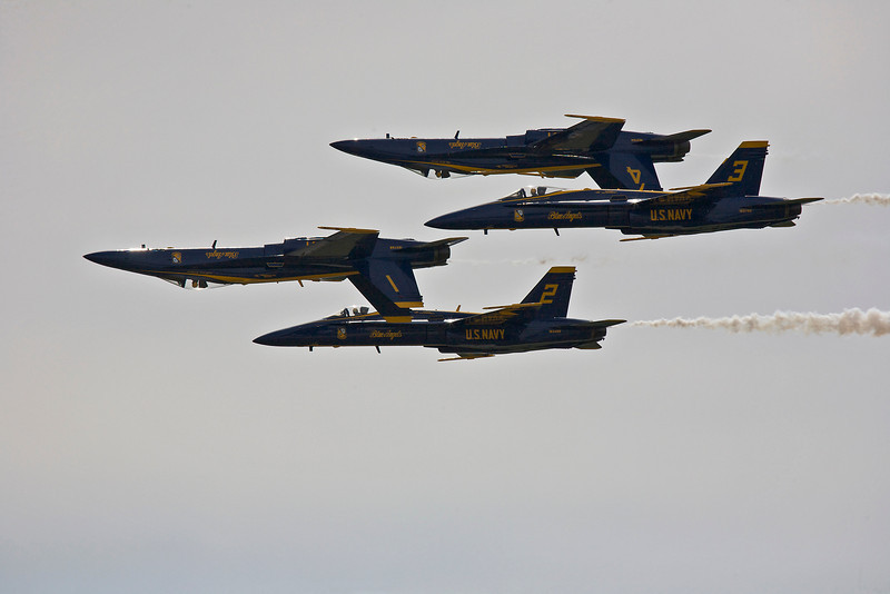 Boston / Portsmouth Airshow Blue Angels