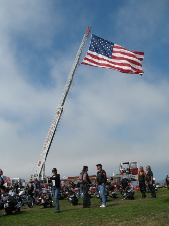 911 Memorial - Motorcycle Parade