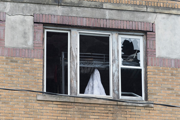 06/25/19 Wesley Bunnell | Staff A fire broke out at a three floor residence at 39 South Whiting St in New Britain on Monday June 24, 2019 at approximately 8pm with firefighters on the scene until approximately 4am Tuesday morning. A bunk bed appears through a third floor front window.