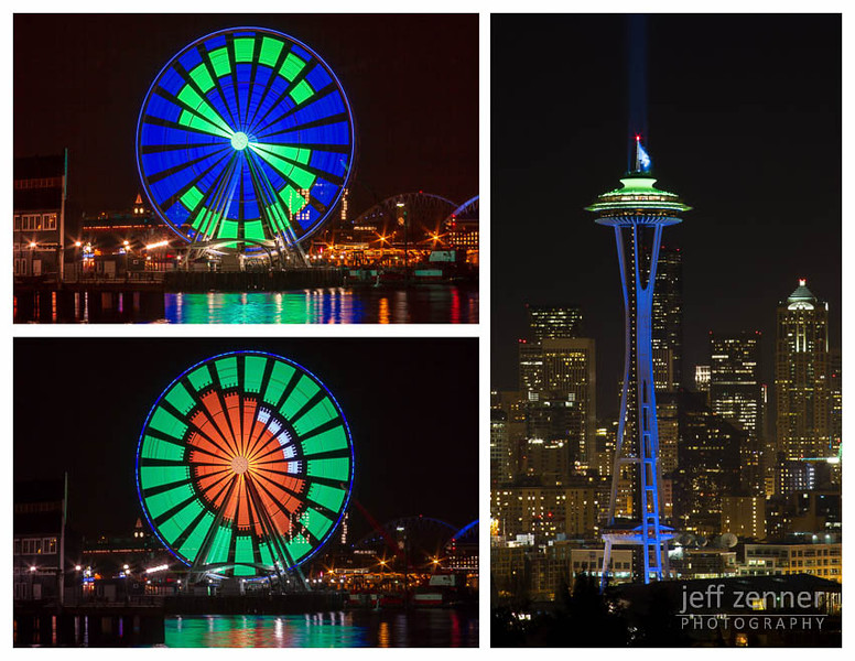 12th Man Spirit in Seattle - Prints Available