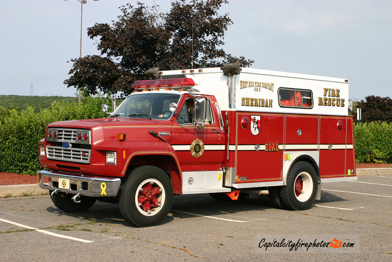 West End Fire Co., Sheridan (Porter Township) Sheridan X-Rescue 647: 1986 Ford/Swab