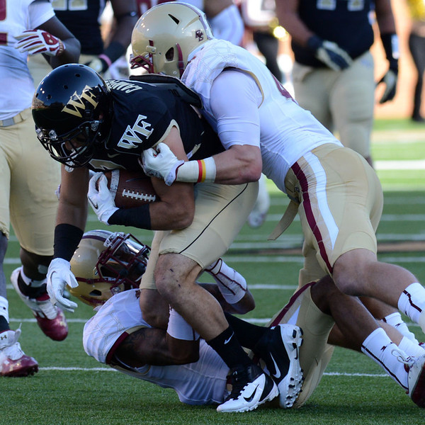 Michael Campanaro tackled.jpg