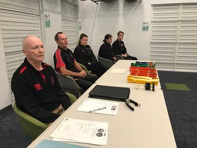 Combat Self Defence Grade Belt Assessments September 2020