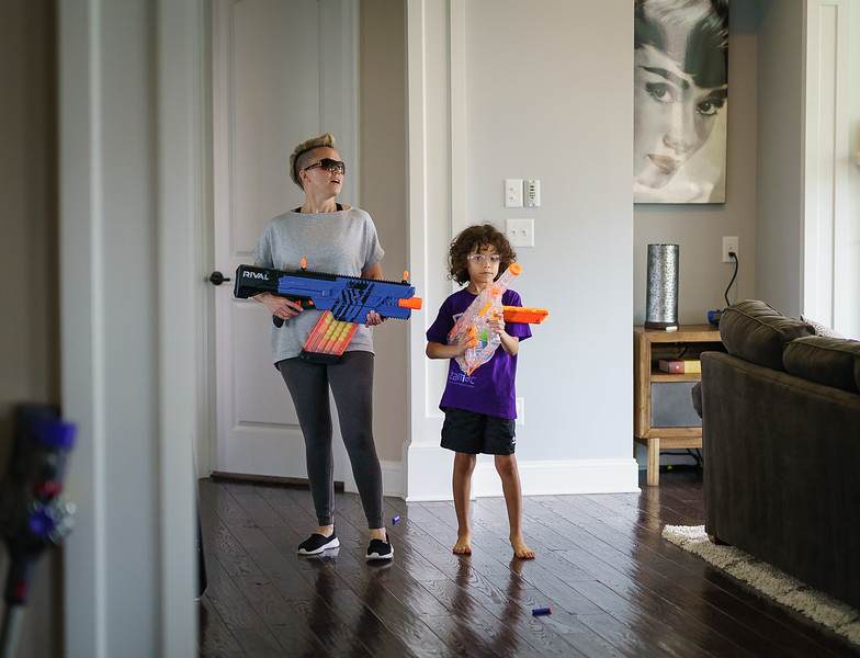 2018-09-02 London 1st Day of School - Nerf Battle-3094.jpg