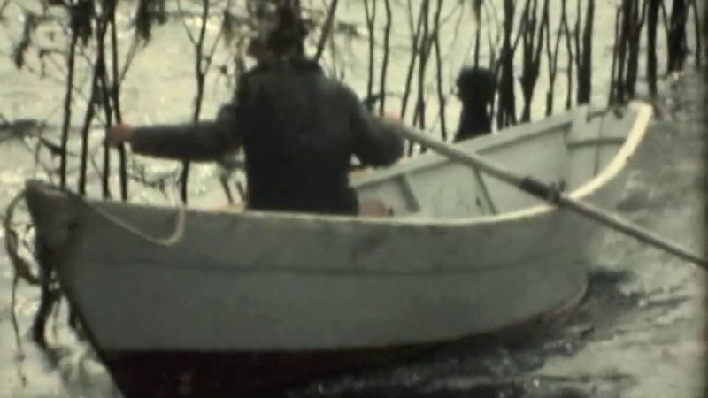 Seining a Weir 1974.m4v