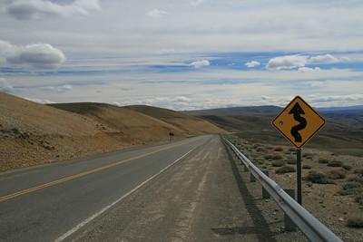 Road to El Calafate