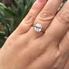 2.39ct Antique Asscher/Square Emerald Cut Diamond, GIA D/IF 28