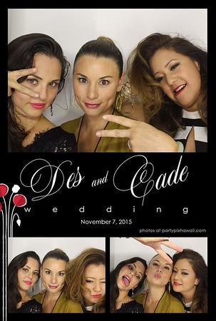 Desiree & Cade's Wedding (Luxury Photo Booth)