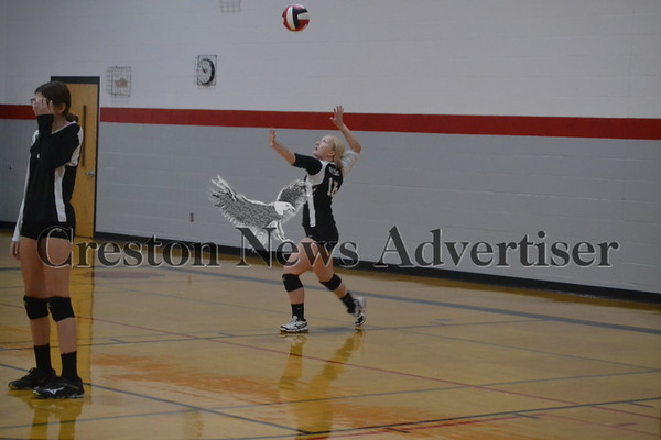 9-24 Creston freshman volleyball tournament