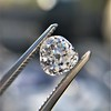 1.03ct Antique Pear/Heart Shape Diamond GIA F VS2 15