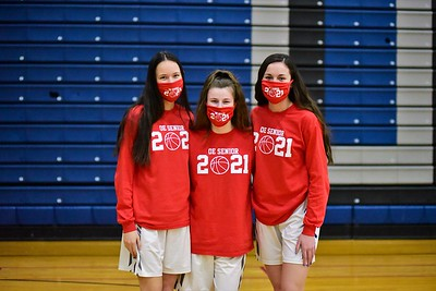 OE Girls Varsity B-ball Vs Plainfield So. (Senior Night 2021)