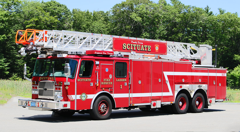 Ladder 1.  2014 E-One Cyclone II   110' RM