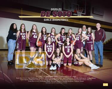 De Soto girls basketball GBB2021