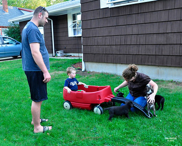 Going for a ride Aug 2010