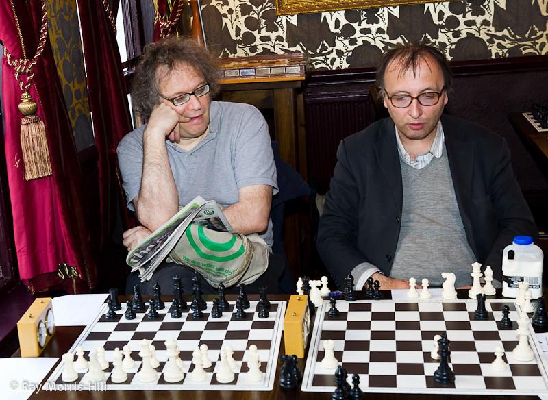 Jon Speelman and Bogdan Lalic
