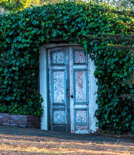 Door to hidden treasures