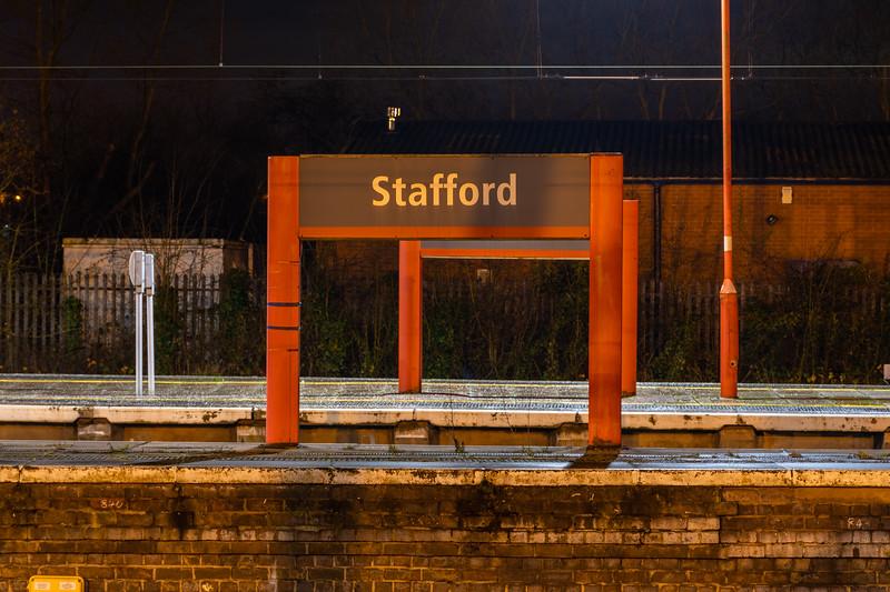 Stafford - Large Running in Board