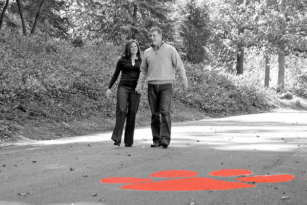 Alex & Meri Engagment Photos at Clemson