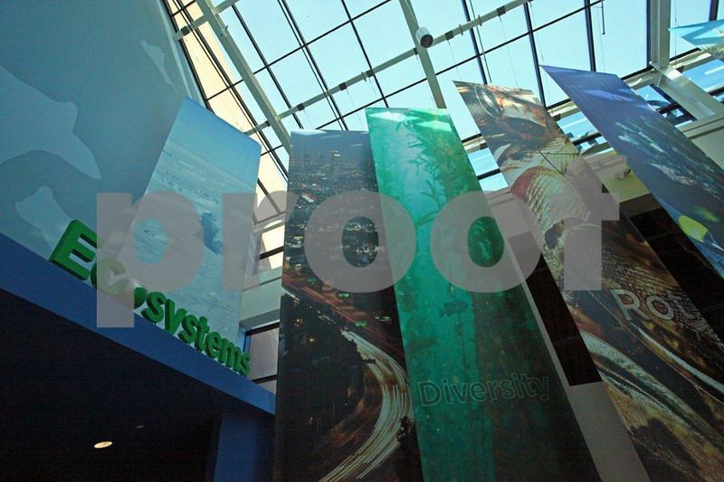 Ecosystems display at the California ScienCenter, Los Angeles, CA