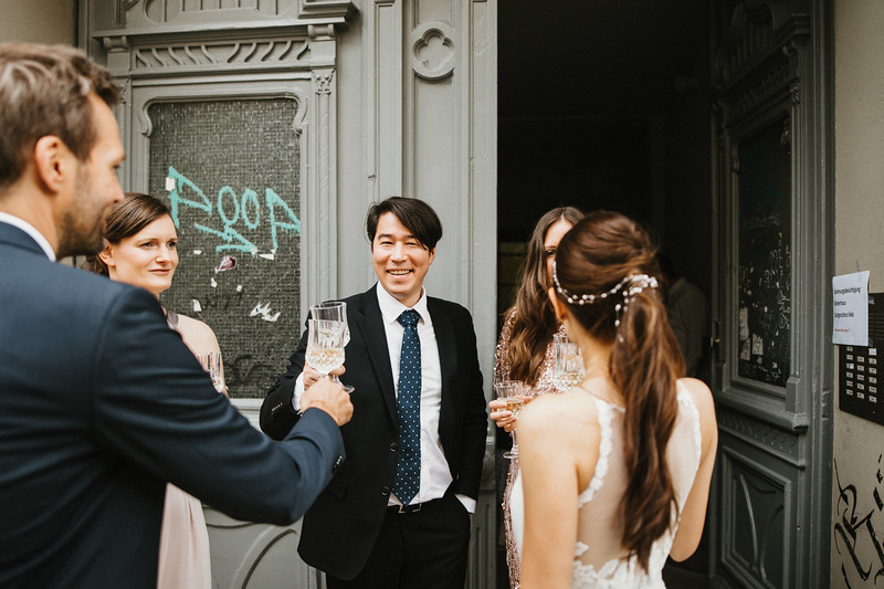 Berlin urban wedding photographer / Urbane Hochzeit Berlin