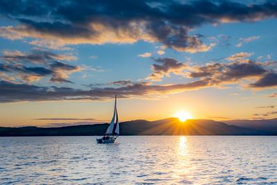 Lake Jocassee Fall 2020
