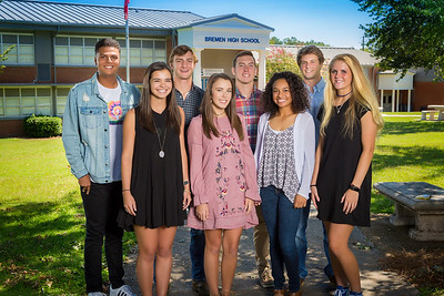 2017 BHS Homecoming Court