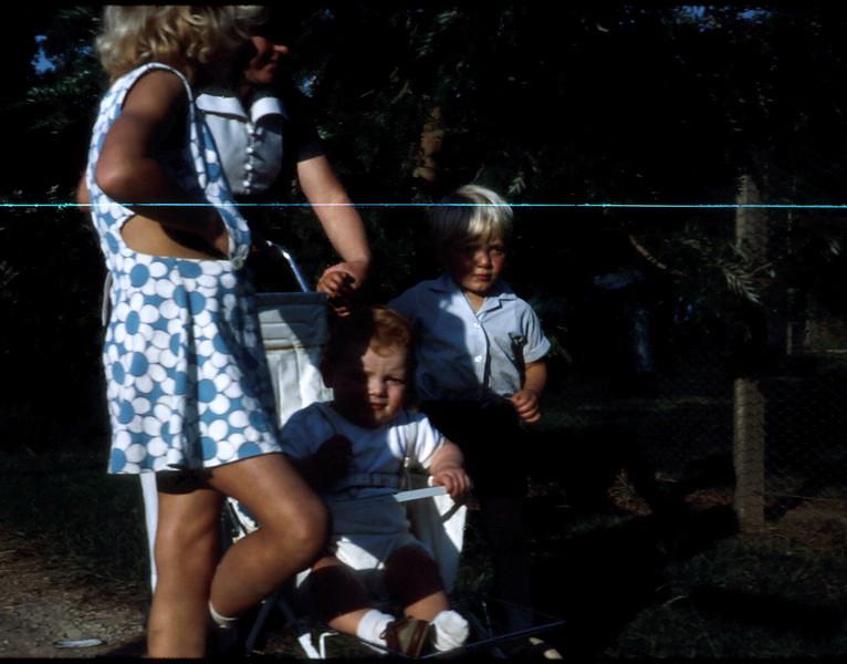 1972-4-2 (30) Susan 6 yrs 9 mths, Mary, Allen 11 months & Andrew 2 yrs 8 mths @ Zoo.jpg