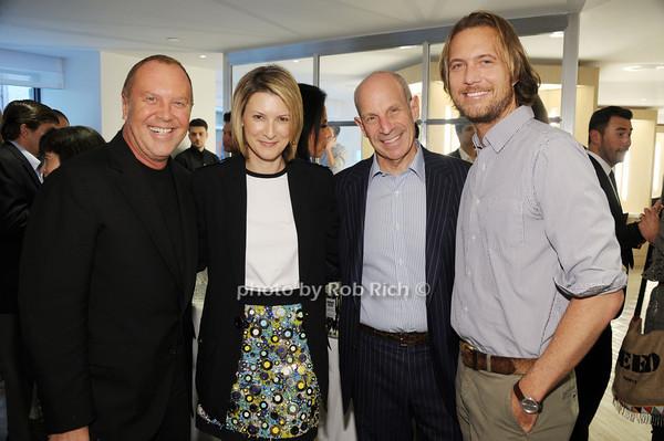 Michael Kors,Lizzie Tisch, Jonathan Tisch, Lance LePere photo by Rob Rich/SocietyAllure.com © 2014 robwayne1@aol.com 516-676-3939