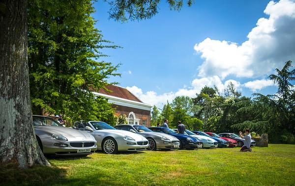 Maseratis at Bentley Motor Museum