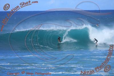 <font color=#F75D59>2010_11_01 (4-5pm) - Surfing Sunset, NORTH SHORE</font>