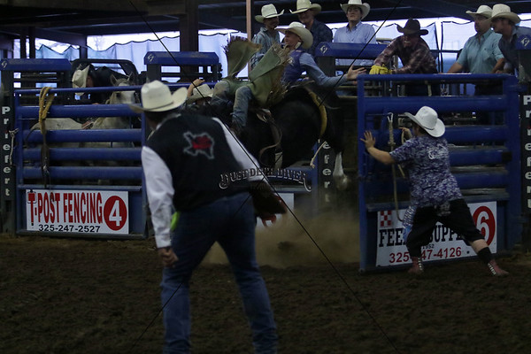 Saturday Night Bronc Riding