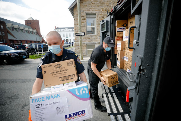 Lenco donates PPE to Pittsfield police and fire-042820