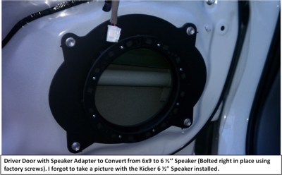 2009 Toyota Tacoma Double Cab Front Speaker and Tweeter Installation