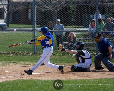 Minneapolis Edison v Concordia Academy Roseville Baseball 4-9-10