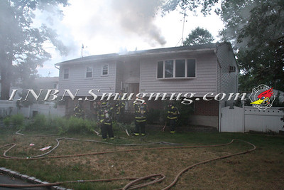 North Babylon Fire Co. House Fire 422 Chelsea Rd. 7-21-13