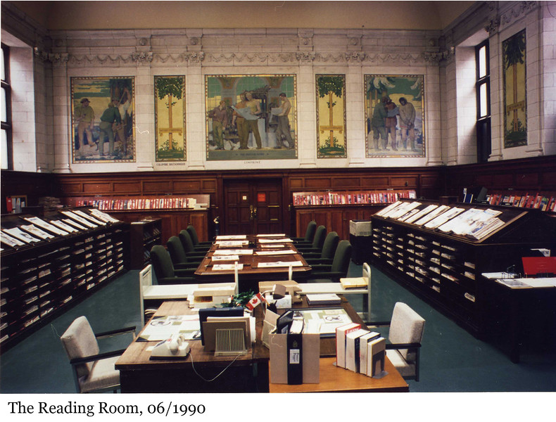 The Reading Room - La salle de lecture, 06/1990