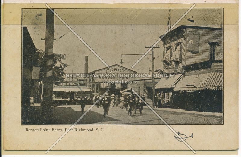 Bergen Point Ferry, Port Richmond