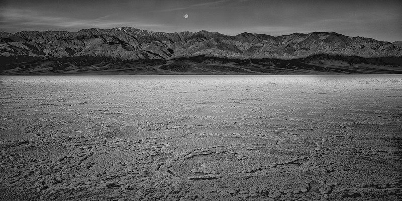 Moonset on the Playa