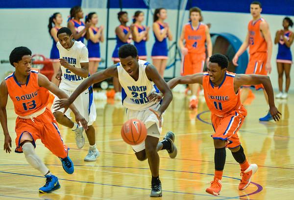 Basketball Varsity Boys vs  Bowie 01-28-14-2