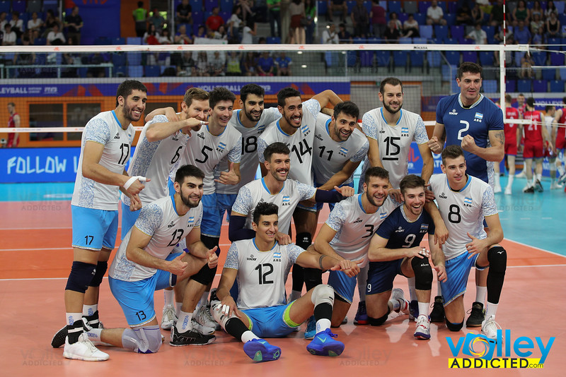 Argentina 3 - Serbia 0 Volley Nations League Men 2019 Allianz Cloud, Milano, 23/06/2019