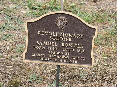 Samuel Rowell Grave