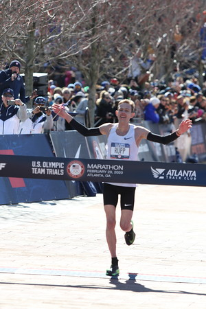 Men's Finish - 2020 U.S. Olympic Marathon Trials