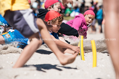 Beach event surf lifesaver