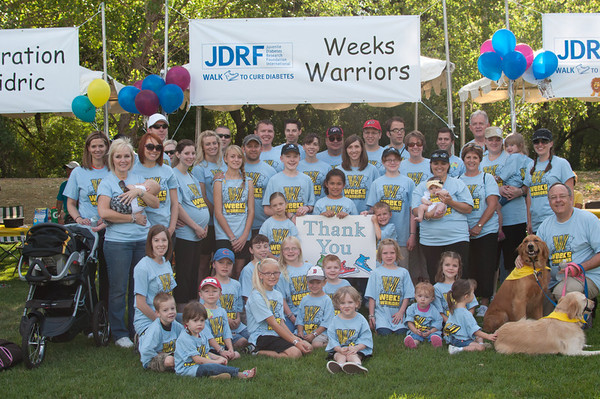 JDRF Weeks Warriors