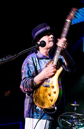 Santana in concert