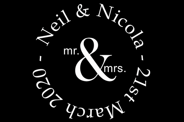 Mirror Booth Hire - Neil & Nicola 21st March 2020